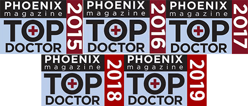 Top Doctor 2015-2019 Phoenix Magazine